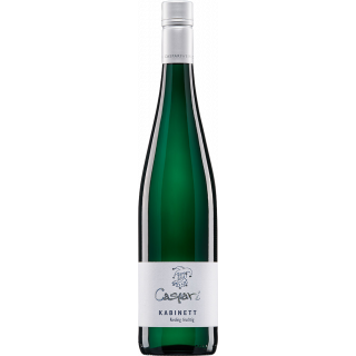 2018 Kabinett Riesling fruchtig Bio - Weingut Caspari-Kappel