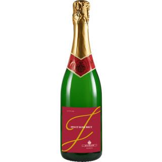 2014 Junior Sekt Burgunder Cuvée Rosé Brut - Weingut Stigler