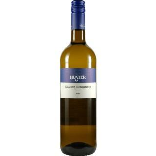2018 Grauer Burgunder QbA trocken BIO - Weingut Huster
