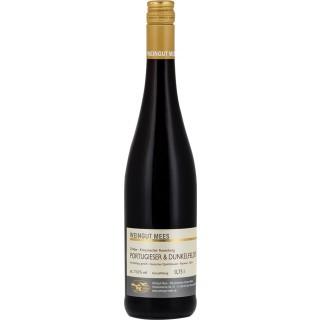 2016 Portugieser und Dunkelfelder Rotwein Cuvee Kreuznacher Rosenberg Nahe feinherb - Weingut Mees