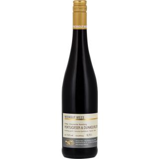 2016 Portugieser und Dunkelfelder Rotwein Cuvee QbA feinherb Nahe Kreuznacher Rosenberg - Weingut Mees