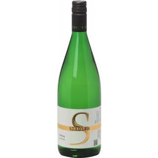 2018 Riesling halbtrocken 1L - Weingut Stadler