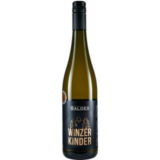 "2019 Briedeler Weißerberg Blanc de Noir ""3 Winzerkinder"" halbtrocken - Weingut Baldes"