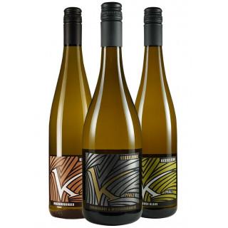 Weißweinpaket zu Salat - Weingut Lukas Kesselring