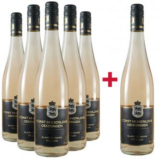 5+1 Blanc de Noirs-Paket BIO - Weingut Fürst Hohenlohe-Oehringen