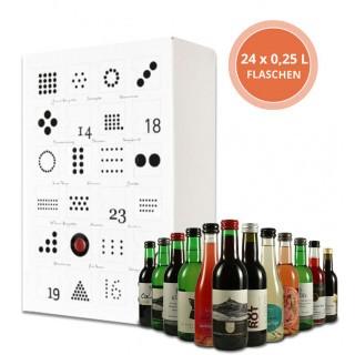 Die Weinprobe für zu Hause - Design in weiß - 24 x 0,25L Generation Pinot