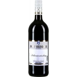 2019 Schwarzriesling Qualitätswein halbtrocken 1,0 L - Weingut Rolf Heinrich