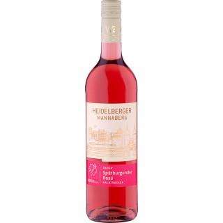 2020 Spätburgunder Rosé Heidelberger Mannaberg halbtrocken - Winzer von Baden