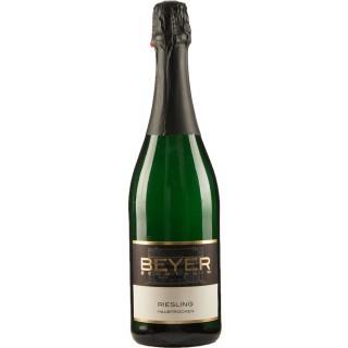 2016 BEYER Riesling Jahrgangssekt halbtrocken - Weingut Johann P. Beyer