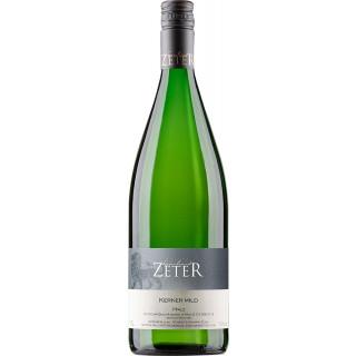 2019 Kerner mild 1L - Weingut Leonhard Zeter