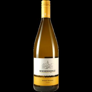 2017 Grüner Silvaner QbA trocken 1L - Wein & Sekt Wiesenmühle