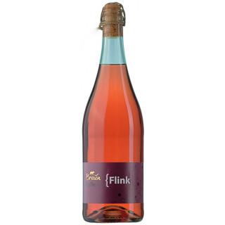 { Flink Prickelndes Rosé-Secco - Familienweingut Braun