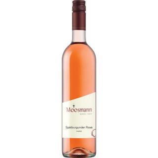 2019 Spätburgunder Rosé trocken - Weingut Moosmann