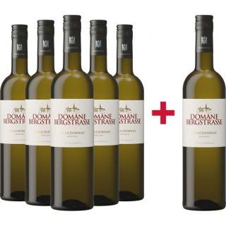 5+1 Chardonnay VDP.Gutswein Paket trocken  - Domäne Bergstraße