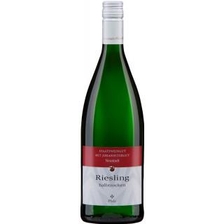 2018 Pfalz Riesling halbtrocken 1L - Staatsweingut mit Johannitergut