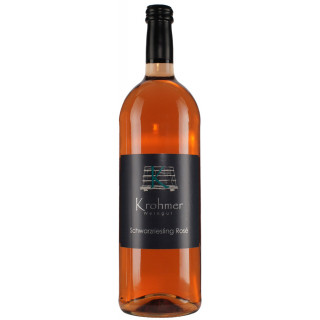2019 Schwarzriesling Rosé halbtrocken 1,0 L - Weingut Krohmer
