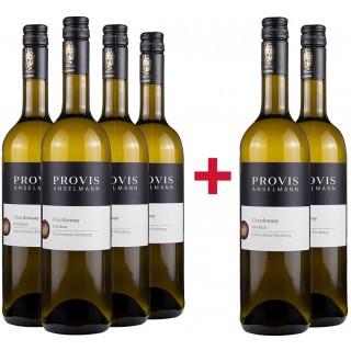 4+2 Chardonnay Kabinett trocken Paket - Weingut Provis Anselmann