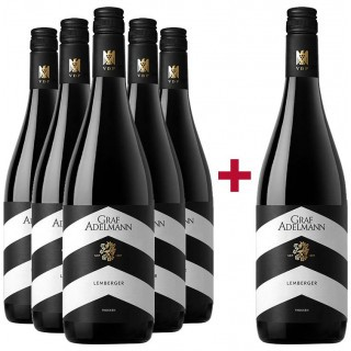 5+1 Lemberger Paket - Weingut Graf Adelmann
