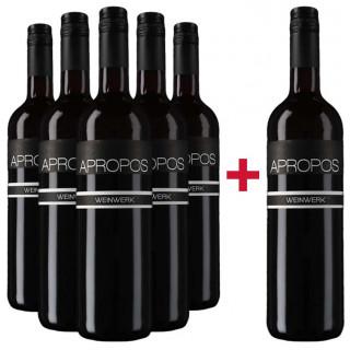 5+1 2015 Apropos Cuvée Rot trocken - Weingut Weinwerk