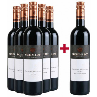 5+1 Cabernet Sauvignon Paket - Weingut Roman Schmidt