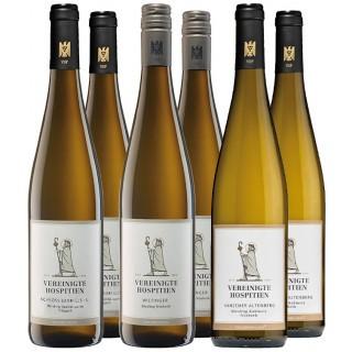 Probierpaket Weißwein Feinherb - Vereinigte Hospitien
