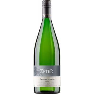 2018 Riesling trocken 1L - Weingut Leonhard Zeter