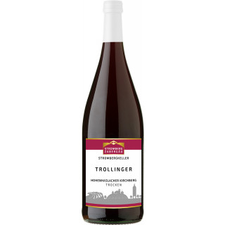 2018 Hohenhaslacher Kirchberg Trollinger trocken 1,0 L - Weingärtner Stromberg-Zabergäu