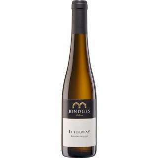 2016 Kröver Letterlay Riesling Auslese edelsüß 0,375 L - Weingut Bindges