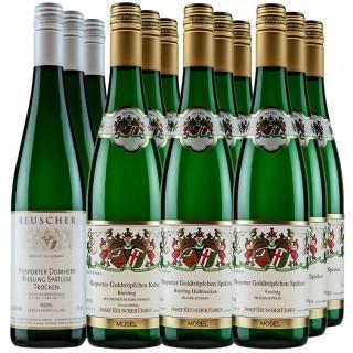 "10 % Rabatt ""Reuscher Erben Riesling Probierpaket"" trocken - Weingut Josef Reuscher Erben"