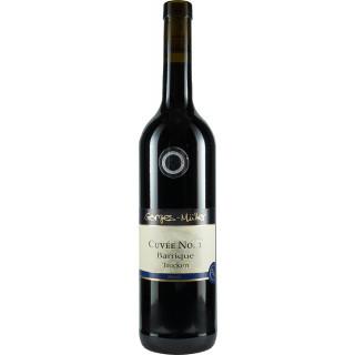 """2015 Cuvée Nr. 1 Rotwein """"Barrique"""" trocken - Weingut Gorges-Müller"""