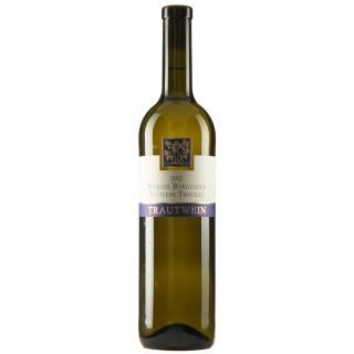 2018 Weißer Burgunder -halbe Traube- Spätlese trocken - Weingut Trautwein