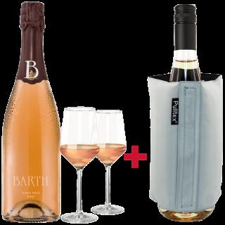 Pinot Rosé Sekt Sorglos Paket