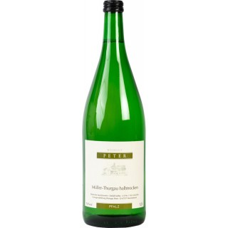 2020 Müller-Thurgau feinherb 1,0 L - Weingut Peter