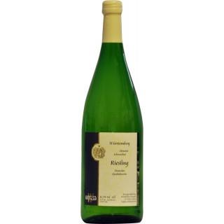 2018 Abstatter Schozachtal Riesling halbtrocken 1L - Weinkellerei Wangler