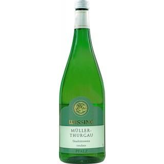 2018 Müller - Thurgau trocken 1L - Weinkellerei Emil Wissing