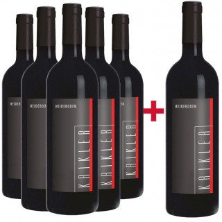 5+1 Paket Heideboden trocken - Weingut Krikler