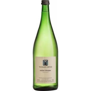 2018 Müller-Thurgau trocken 1L - Weingut Thomas Mend