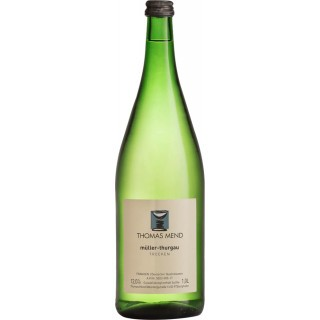 2019 Müller-Thurgau trocken 1,0 L - Weingut Thomas Mend