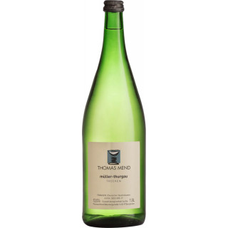2019 Müller-Thurgau trocken 1L - Weingut Thomas Mend