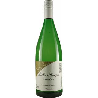 2020 Müller-Thurgau trocken 1,0 L - Weingut Dieter Heinz