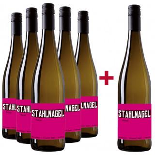 5+1 Paket Stahlnagel Rosé trocken - Winzerhof Nagel