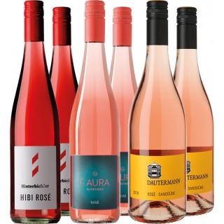 Letzte Flaschen Rosé Paket