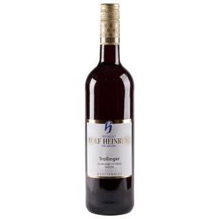 2015 Heilbronner Stiftsberg Trollinger Qualitätswein feinherb - Weingut Rolf Heinrich