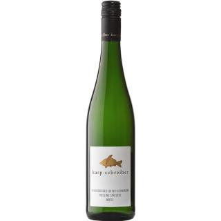 2018 Brauneberger Juffer-Sonnenuhr Riesling Spätlese süß - Weingut Karp-Schreiber