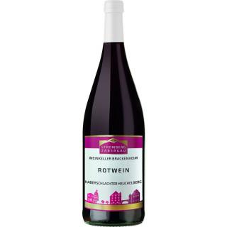 Haberschlachter Heuchelberg Rotwein halbtrocken 1,0 L - Weingärtner Stromberg-Zabergäu