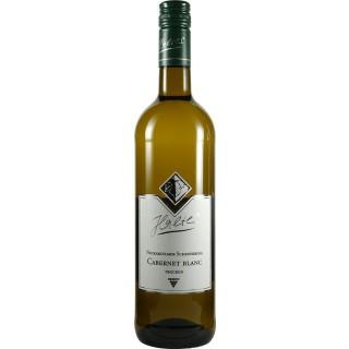 2018 Cabernet blanc trocken Bio - Weingut Halter