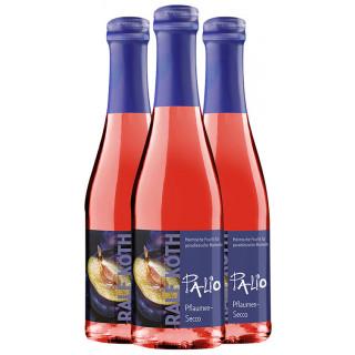 3x Palio Pflaume-Secco 0,2 L - Wein & Secco Köth