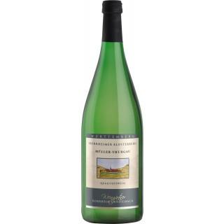 2019 Müller-Thurgau halbtrocken 1,0 L - Horrheim-Gündelbach