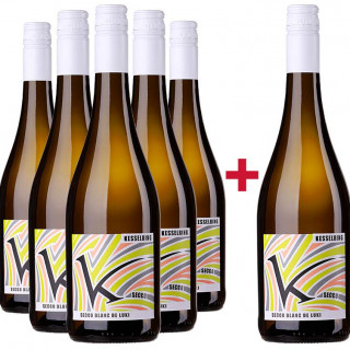 5+1 Paket Secco Blanc de Luki - Weingut Lukas Kesselring