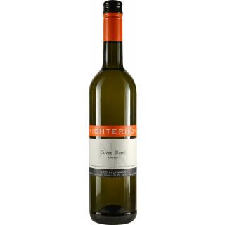 2020 Cuvée Blanc Weißer Burgunder trifft Riesling trocken - Sekt-Weingut Pichterhof